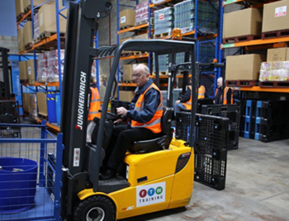 Reach Forklift Truck (FLT) Info & Courses