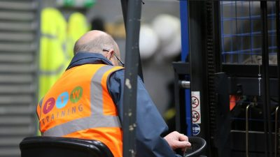 forklift training in Widnes